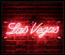 LAS VEGAS Neon Sign 1